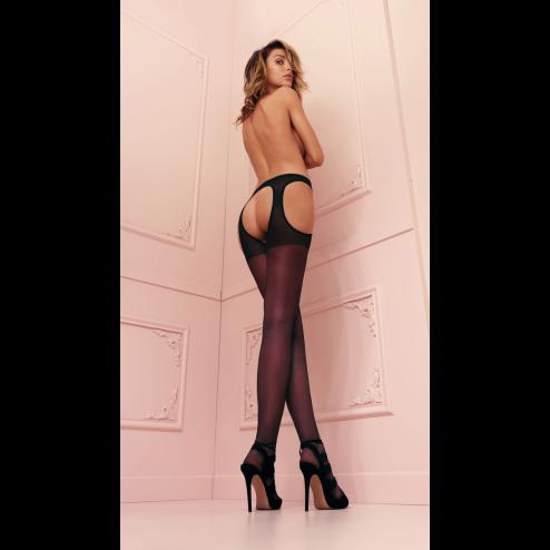 Strip Panty Scandal Collant con reggicalze incorporato Trasparenze