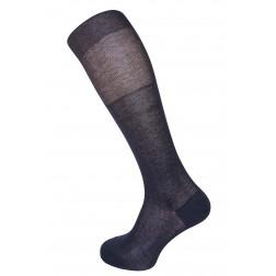 491 Calzino da uomo lungo in filo di scozia Rossi calze